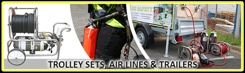 Trolley Sets, Air Lines & Trailers