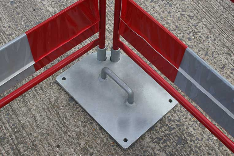 Gate weight fitment