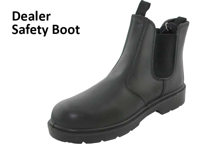 Dealer Safety Boot
