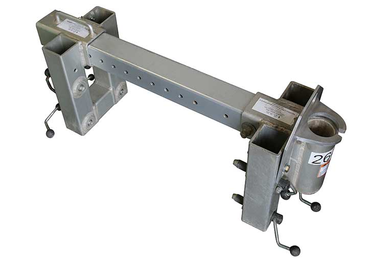Adjustable Barrel Mount Davit Base