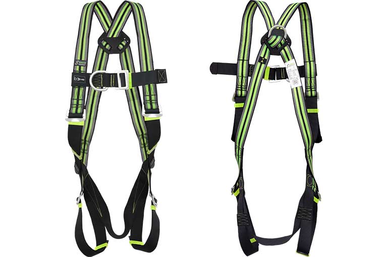 FA10 105 00 Twin Point Harness front and Back views