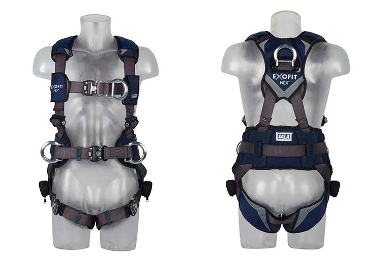 Exofit Twin Point Harness with Positioning Belt