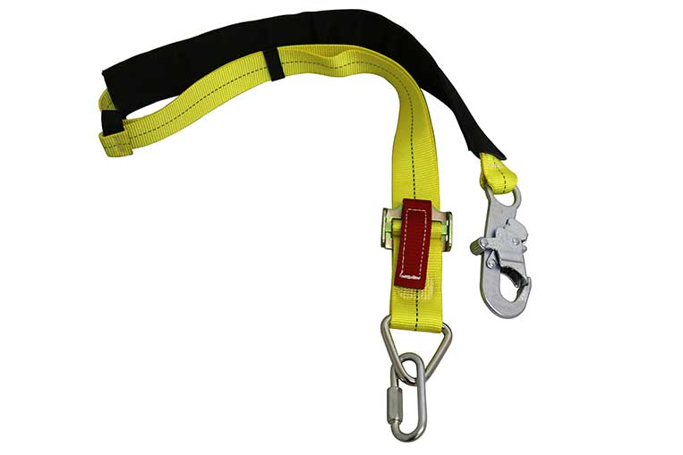 Pole Choke Harness Side View and Bag