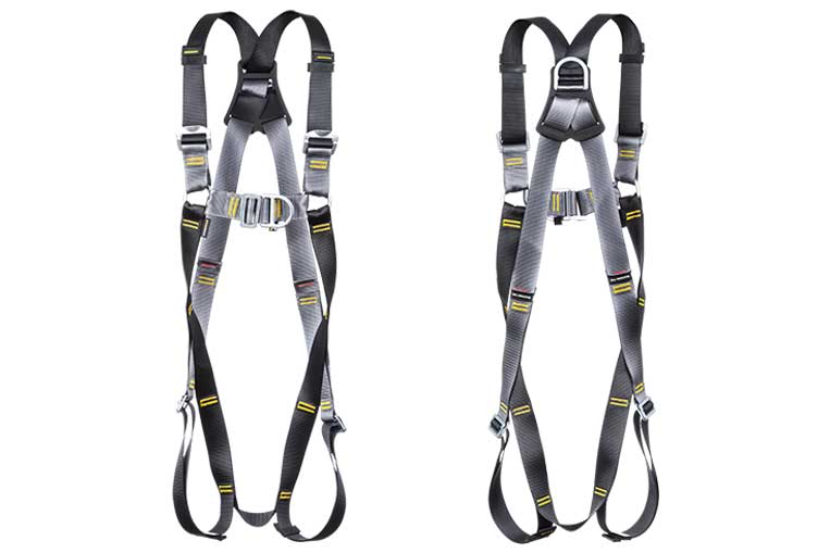 RGH2 BigGuy Twin Point Harness front and back views