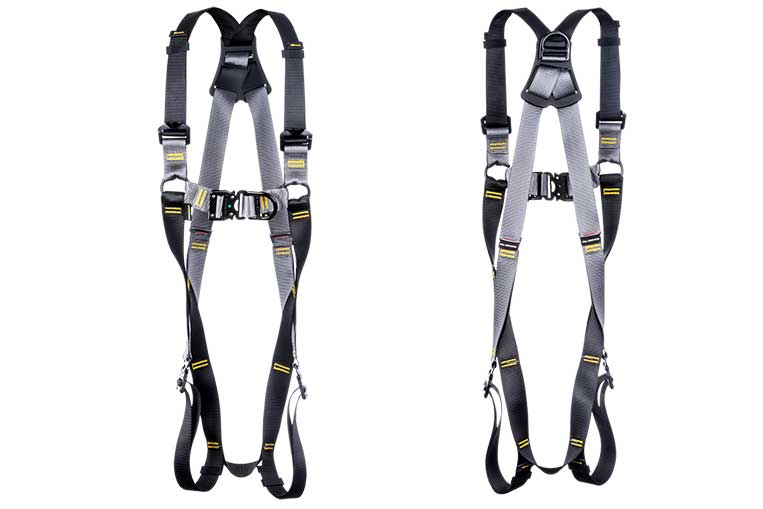 RGH2 Fast Fit Twin Point Harness front and back views