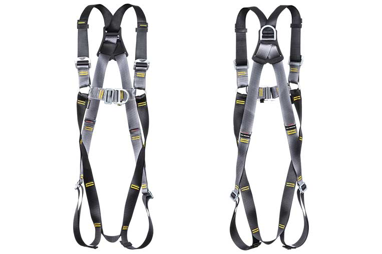 RGH2 Twin Point Harness Front and Back views