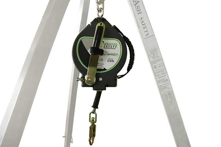 FA 20 401 30 30m Fall Arrest Retrieve Block with Handle Stowed