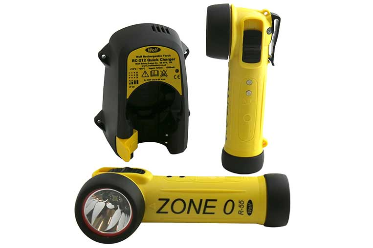 Wolf R-55 Zone 0 Rechargeable Torch
