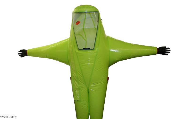 Respirex TYFB Encapsulated Gas Tight Chemical Suit