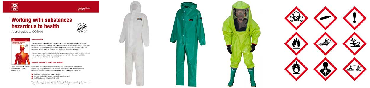Contamination suits